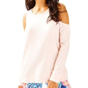 Lilly Pulitzer Sunny Shoulder Pullover - Pink